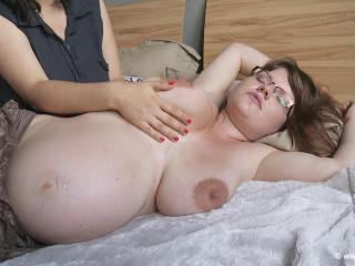 Steffi And Marie Pregancy rubdown (2014)