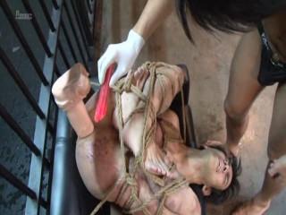 Dark-hued Fuckhole 9 - Cord Restrain bondage Torture