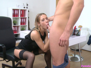 Alexis Crystal - American Boy Spunks on Agents Face (2016)