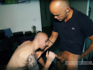 Kriss Aston gets fucked and gulp Dean's jism