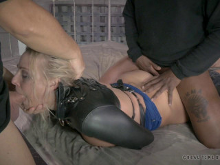 RTB - Light-haired Mummy tied and penetrated doggystyle with incredible deepthroat! - Oct 21, 2014 - HD