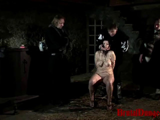 Fortune Teller Gypsy Witnesses Own Penalty Part 2 - BrutalDungeon