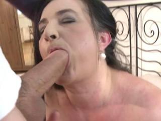 gigantic breast plumper brunette granny amazing screw