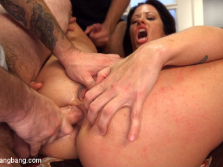 Steamy Mummy Wifey Group-fucked and Covered By Husband's Friends!