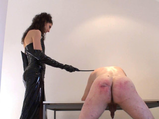 Female Mary - Relentless Caning Lesson