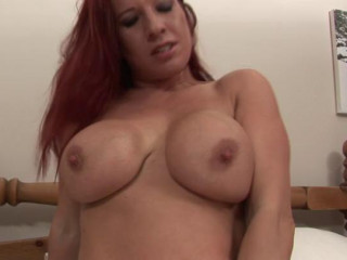 enormous butt redhead mature mega-bitch loves to showcase butt in front of camera