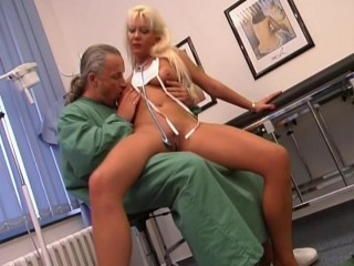 Nurse's enormous sex plaything