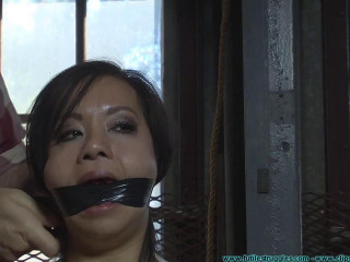 Kimmy Lee Tied like a hog in the Fresh Studio 3part - BDSM, Humiliation, Torment HD 720p