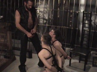 Restrain bondage Lovemaking