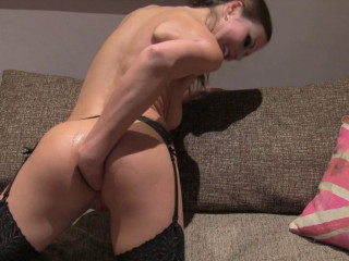 Peachy Backside Fucked And Finger-tickled