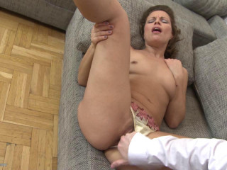 Valerina  - Hairy mother fucking and gargling HD 720p