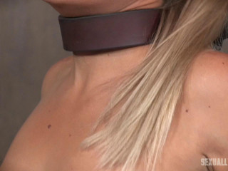 Angel and Dee Tied Back to Back And For Mouth and Rectal Use
