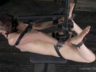 IR - Stuck in Restrain bondage - Hazel Hypnotic, Cyd Ebony - Apr 18, 2014 - HD