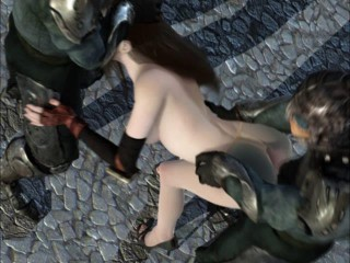 They took the soldier captive in a sex