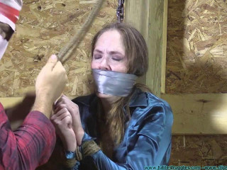 Rachel Rides the Horse After being Genitals Fettered - Part 2