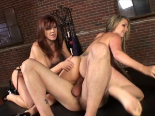 Lexi Lamour shares her husband with her pal Courtney