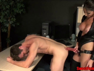 Penetrated Over the Desk by His Manager