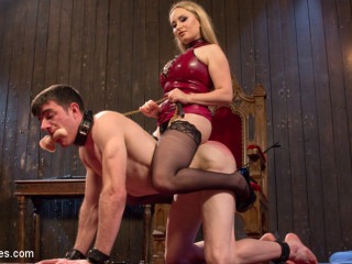 Aiden Starr Corrects A Highly Bad Dog