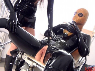 Deviant Rubber Clinic, Gag, Breath Play, Sniff Fuck stick Part 3 (2014)