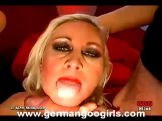 Jizm Facialed Blondes, part 3