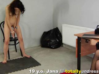 Downright Unwrapped -Jana 19 y.o.