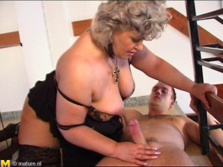 thick knocker mature placida humped by young guy