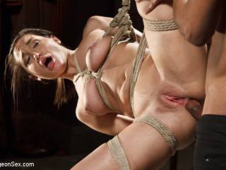 Chained, Tied, and Booty Smashed with a Yam-sized Cock!