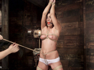 All Innate Hottie in Pole Driver Climax Overcharge