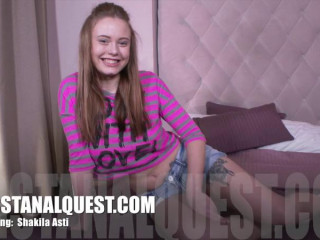 Very first Assfuck Quest- Shakila Asti Fresh December