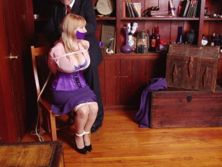 Corded and Ball-gagged - The Case of the Grasped Detective - Part 1 - Starring Miss Purple