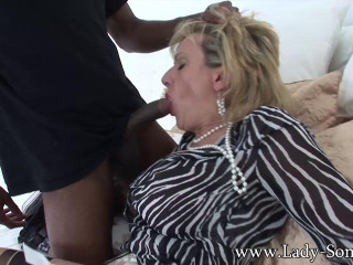 Nymph Sonia - Trophy wifey used rock hard and filled with cum