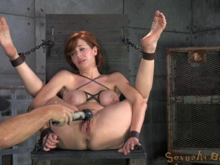 Veronica Avluv bound and porked rough and hard, meaty squirting numerous orgasms!