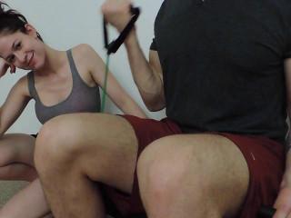 Ashley Alban - Fellate this Super-fucking-hot Gym Guy