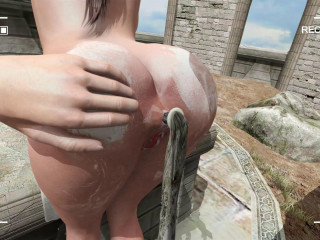 Lara With Hose pipe Level 2 Scene 3