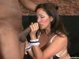 Latina mummy Gitana phat pink cigar anal invasion