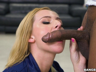 Kate England - Smoking A Monster Pipe! FullHD 1080p