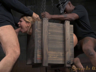 Alina West Blinded Bound in a Cell and Torn up Hard...
