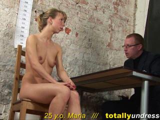 Entirely Unclothed - Maria 25 y.o.