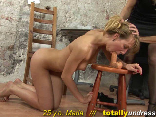 Entirely Unclothed - Maria 25 y.o.