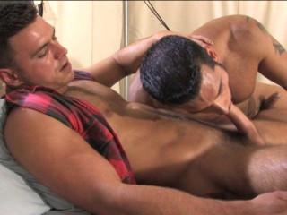 Muscles bareback