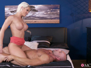 Blanche Bradburry - Steamy creampie served up for ash-blonde FullHD 1080p