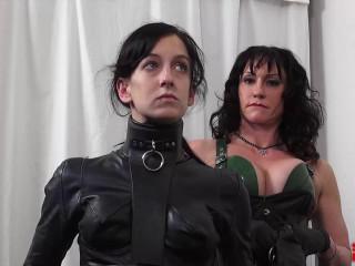 Dominatrix Miranda Leathering Elise Part 2