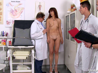 Lada (60 years old nymph gyno exam)