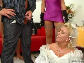 Golden Bridal Shower