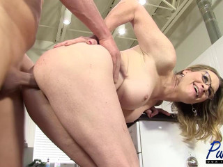 Miss Marcy Big-chested Mummy Marcy fucks a successful guy (2017)