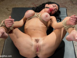Mummy Dumps for Hours: Veronica Avluv double fisted, rectally fucked!