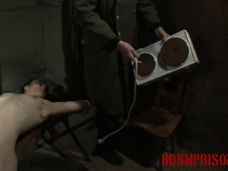 BDSMPrison - Nadja Suffers Daily BDSM Penalty & Humilation with Fire & Ice Play