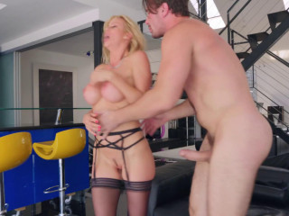 Busty Platinum-blonde Alexis Fawx In Unscripted Pummel FullHD 1080p