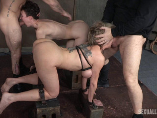 Dee Williams & Bonnie Day In Violent Harsh Screw