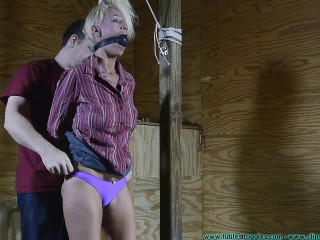 Worthless Struggles - Amanda Foxx Abused and Chairtied - Part 1